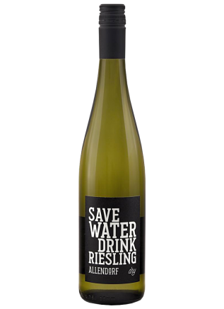 SAVE WATER DRINK RIESLING 0,75L