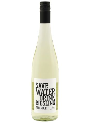 SAVE WATER DRINK RIESLING ALCOHOL FREE 0,75L