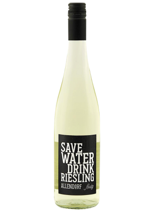 SAVE WATER DRINK RIESLING FRUITY 0,75L (1)